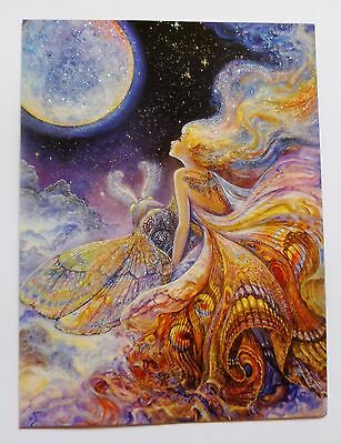 Josephine Wall 18x14cm Grußkarte Karte *Fly Me to the Moon* mit Text