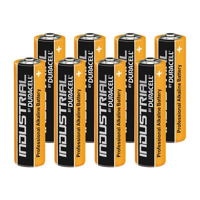 8 Duracell Industrial AA Alkaline Batteries Replaces Procell MN1500 1.5V LR6