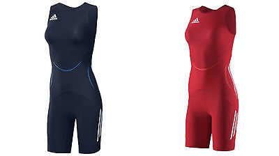 Adidas Wrestling WR Class Red Navy Adults Women's Suit Singlet