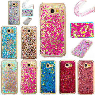 Shining Bling Dynamic Liquid Glitter Quicksand Soft TPU Cover Case For Samsung