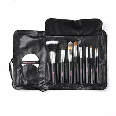 Beauty-Boxes - Set di pennelli professionali per make-up, 9 pezzi (k6G)