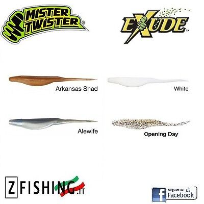 """BAIT SILICONE Exude RT Slug 5"""" MISTER TWISTER pike spinning bass pike lure"""