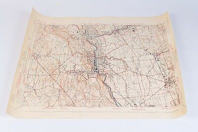 U.S. Department of The Interior Allentown Quadrangle Topographic Map 1943