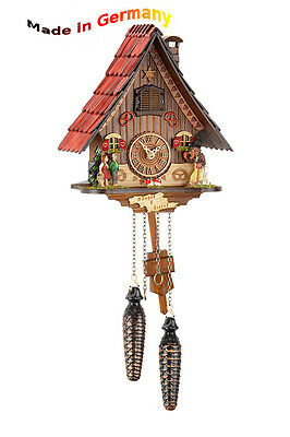 Black Forest Cuckoo Clock, Hansel and Gretel Fairy Tale World, Made in Germany