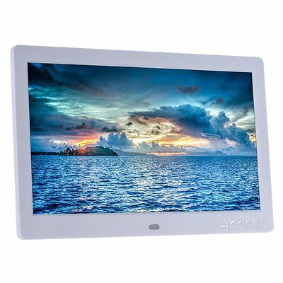"""Andoer 10"""" HD LCD Digital Photo Picture Frame Wide Screen High Resolution 1024x6"""
