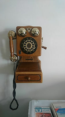 Vintage Museum Thomas Series Wooden Telephone 1997 Limited Edition Replica