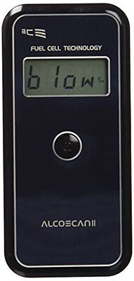 ACE Alcoscan II Basic 0 - 0.4% Nero alcohol testers (Y8X)