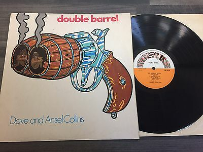 Dave And Ansel Collins - Double Barrel Lp Orig 1971 Uk Trojan Trl 162 Near Mint