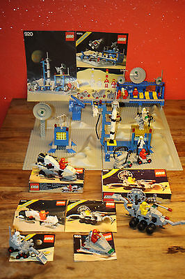 (Lk1) Lego Classic Space Figurines Station Vehicles Spaceship 6970 920