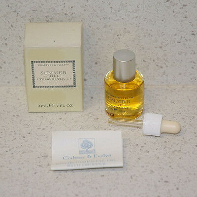 Crabtree & Evelyn Summer Hill Environmental Oil Dropper 9 Ml Olio Essenziale