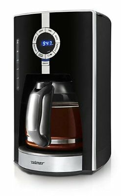 Zelmer CM1001D Drip coffee maker 1.8L 14cups Black,Silver coffee maker - (M2O)