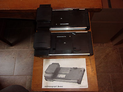 LOT OF 2 DataCard Addressograph Credit Card Imprinter Slider Roller Machine #914