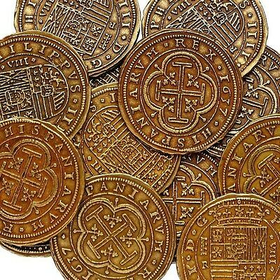 Pirate Coins / Treasure  /buy 5 Get 1 Free / Gold Effect