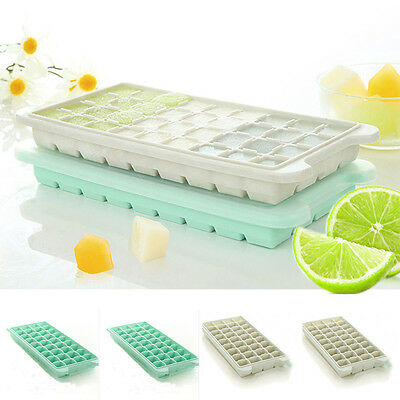 Food Supplement Mold With Lid Frozen Ice Maker Home Kitchen Tool ICE Cube Trays