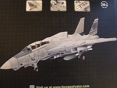 Avion Forces Of Valor  172 Metal Us F 14A Tomcat   Boite Neuf 85040