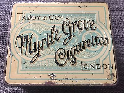 Taddy & Co's Myrtle Grove Cigarettes Tin c1900