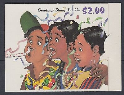 XG-AE728 SINGAPORE IND - Greeting, 1993 Stamps, Children MNH Booklet