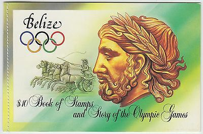 XG-AD844 BELIZE - Olympic Games, 1984 Los Angeles '84 MNH Booklet