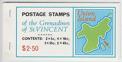 XG-AE472 ST VINCENT & GRENADINES IND - Maps, 1976 Union Island MNH Booklet