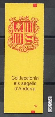 XG-AI646 ANDORRA-SPANISH - Definitives, 1993 Coats Of Arms, Sealed MNH Booklet