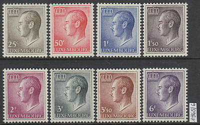 XG-R564 LUXEMBOURG - Definitives, 1965 1966, 8 Values MNH Set