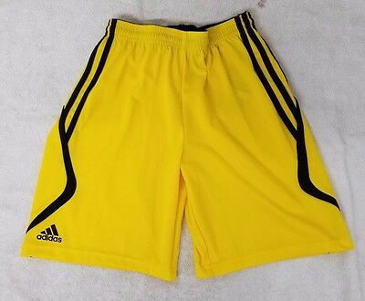 Adidas Climacool Yellow Color Kid's Shorts Size Youth Large