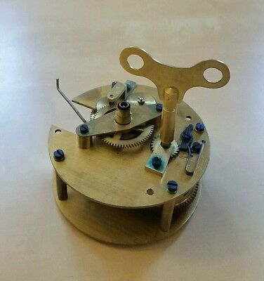 Smiths Astral 7 Jewels Movement. Smiths Ship Clock Movtment Only.