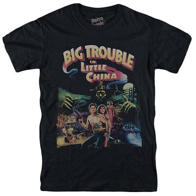 BIG TROUBLE IN LITTLE CHINA T-shirt Grosso guaio town Kurt Russell Carpenter