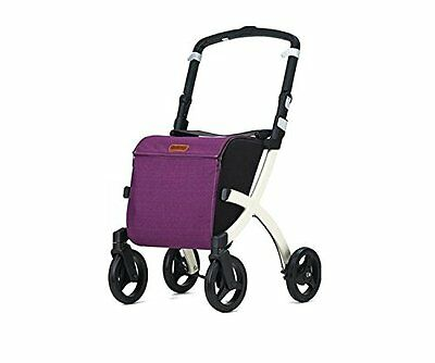 Ability Superstore Rollz Flex shopping rollator – Viola (E8D)