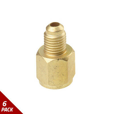 FJC Inc. R134a Refrigerant Tank Adapter [6 Pack]