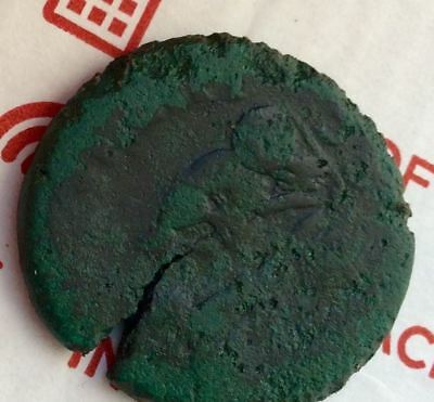 ANCIENT ROMAN PROVINCIAL COIN, GETA / DRAGON FLY, 27mm, 10.6g, F,, 198-208 AD.