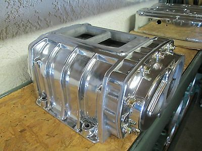 New 4-71 show polished blower 471 gas set up new bearings seals ready to install