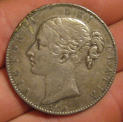 Great Britain - 1844 Large Silver Crown