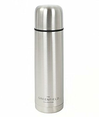 Greenfield Collection vuoto isolato Thermos in acciaio inox (g9c)