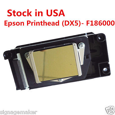 US Stock DX5 Printhead Epson F186000 Universal New Version for Chinese Printers