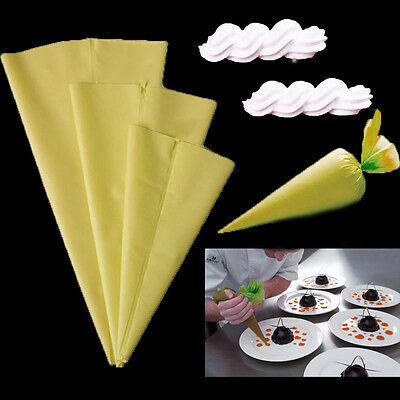 Cake Decorating Bags Homemade : Silicone DIY Icing Piping Cream Pastry Bags +12Nozzle Sets ...