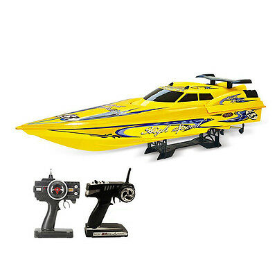 Speedboat NQD 757T 1:10 RC Boat Brushless Electric 2 2.4G Yellow Brushless Elect