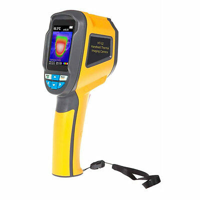 Precision Protable Thermal Imaging Camera Infrared Thermometer Imager HT-02 BS