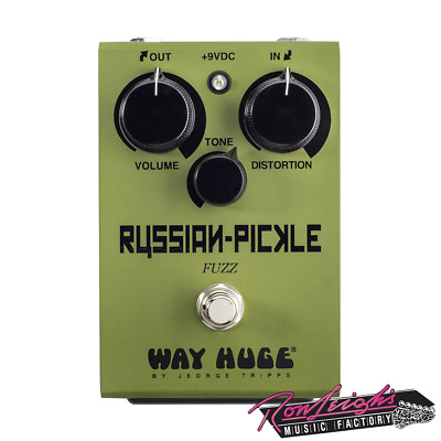 Way Huge by Jim Dunlop Russian Pickle Fuzz Electric Guitar Pedal - BRAND NEW