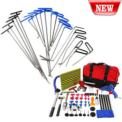 85PC PDR Tool Glue Puller Tabs PAD for Paintless Dent Repair Hammer Wedge Tools