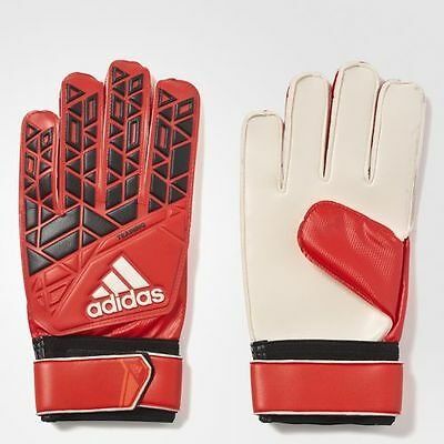adidas Performance ACE MEN GOALKEEPER GLOVES 1Pair Red/Black/White-Size 7,8 Or 9