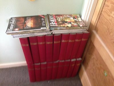 history today magazine over 200 issues most in year binders from 1983 to 2009