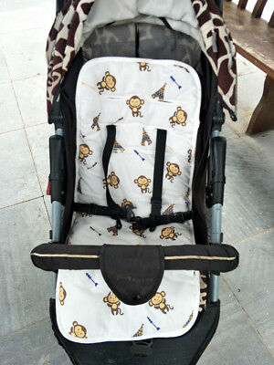 Baby Stroller Pad Seat Cushion Infant Diaper Pad Changing Mat Seat Pad