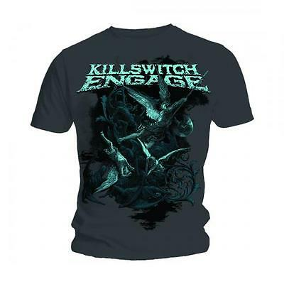 Killswitch Engage T Shirt Battle Official Grey Mens Tee Metal Rock Merch Classic