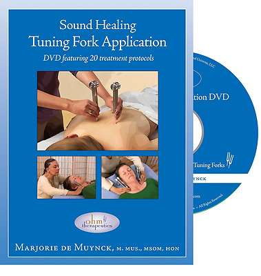 Sound Healing Tuning Fork Application DVD Movie w/ 20 Body Massage Treatment New