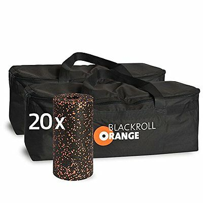 blackroll-orange Trainer Bag Duo Pack con 20 faszienrollen standard (z7x)