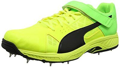 Puma Evospeed B, Scarpe da Cricket Uomo, Giallo (Safety Yellow-Puma (E6X)