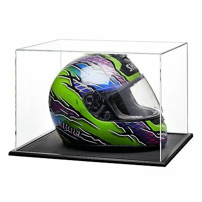 Acrylic Display Case for a Signed/Autographed Racing/Crash Helmet