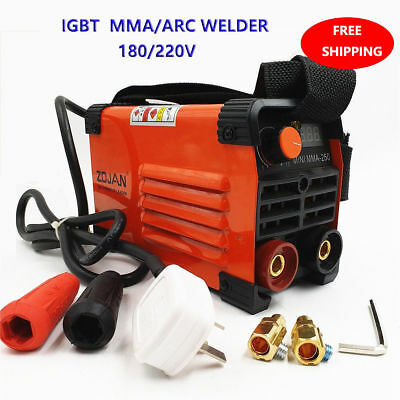 Mini MMA IGBT Handheld Welder 220V 20-250A Inverter ARC TIG Welding Machine Tool
