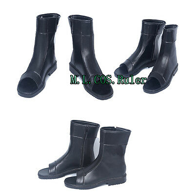 High-quality Japanese Anime Naruto Cosplay Boots Black Shoes Cosplay Accessories